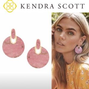 Kendra Scott Pink Didi Drop Earrings